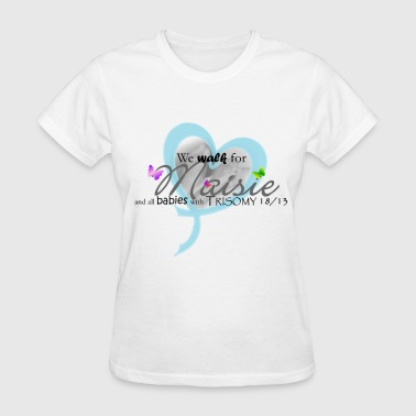 Trisomy 18/13 awareness names Women's T-Shirts - Women's T-Shirt