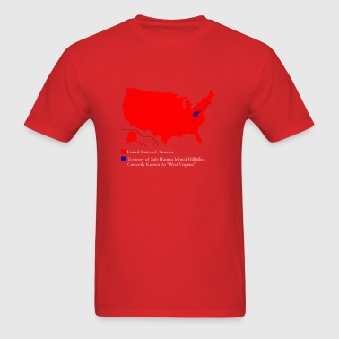 USA West Virginia Funny T-Shirt - Men's T-Shirt