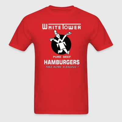 White Tower Hamburgers - Men's T-Shirt