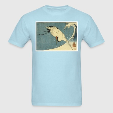 Bird and Wave - Men's T-Shirt