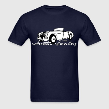 Classic Austin-Healey script and illustration - Men's T-Shirt