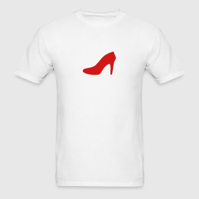 red shoe shirt - Men's T-Shirt