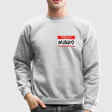 SHINee - MY NAME IS MINHO - Crewneck Sweatshirt