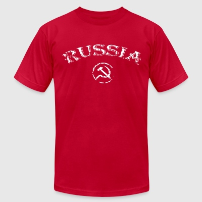 Russia - Men's T-Shirt by American Apparel