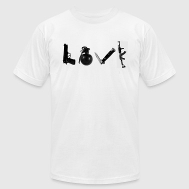 LOVE - Men's Fine Jersey T-Shirt