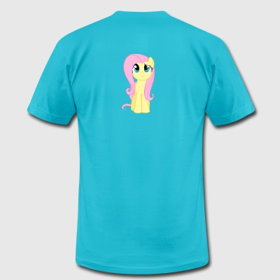 Fluttershy Frowning Shirt - Men's T-Shirt by American Apparel