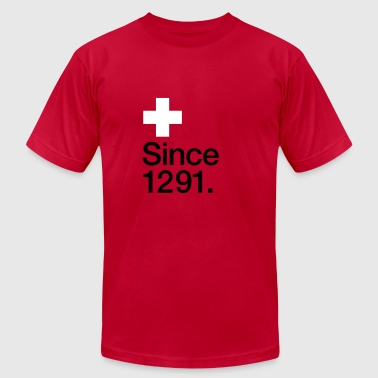 Switzerland, since 1291 - Men's Fine Jersey T-Shirt
