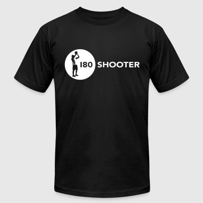 180 Shooter - The Secret - Men's T-Shirt by American Apparel