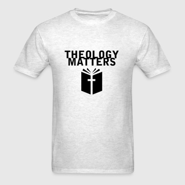 Theology Matters GRAY - Men's T-Shirt