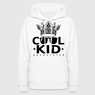 GIRLS Crowned Cool Kid Hoodie Black - Women's Hoodie