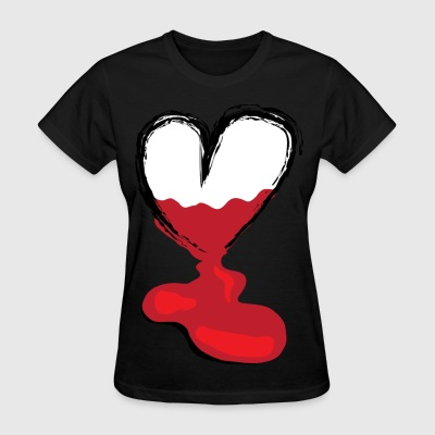Leaking Heart (girls) - Women's T-Shirt