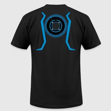 elecTRONic Frontier - Men's T-Shirt by American Apparel