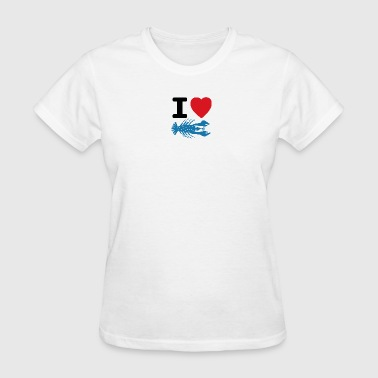 I Heart Lobsters - small - Women's T-Shirt