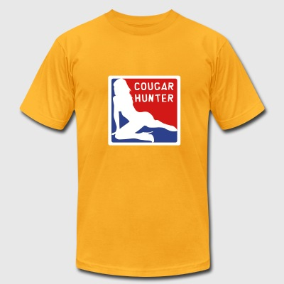 Cougar Hunter 1 - Men's T-Shirt by American Apparel