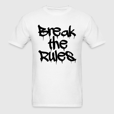 GUYS Break the Rules Tee Black - Men's T-Shirt