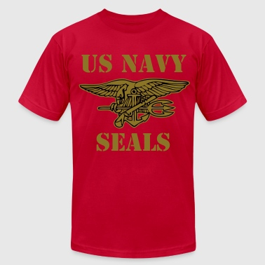 US NAVY SEALS vec T-Shirts - Men's Fine Jersey T-Shirt