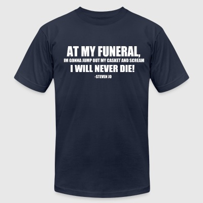 FUNERAL - Men's T-Shirt by American Apparel