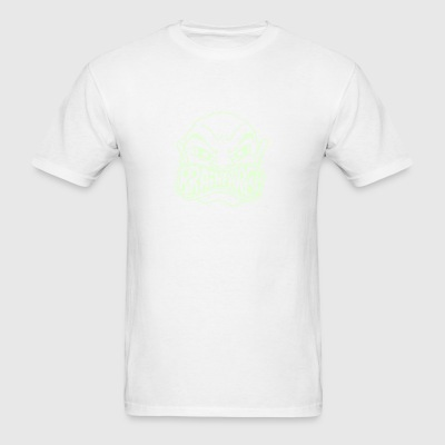 Brainphreak Glow In The Dark White - Men's T-Shirt