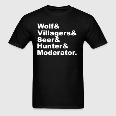 Ultimate Werewolf Shirt (White ink) - Men's T-Shirt