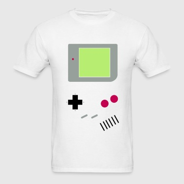 Game Boy (w/ screen) - Men's T-Shirt