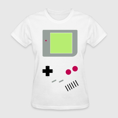 Woman's Game Boy (w/ screen)  - Women's T-Shirt