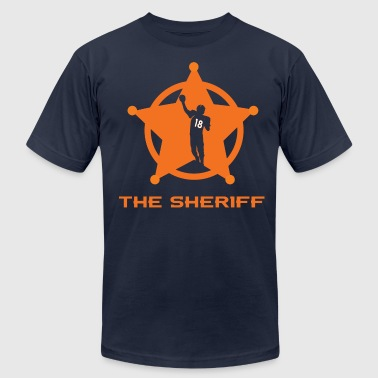 THE SHERIFF - Men's Fine Jersey T-Shirt