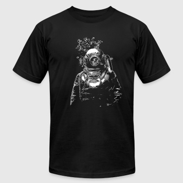 Deep Sea - Men's Fine Jersey T-Shirt