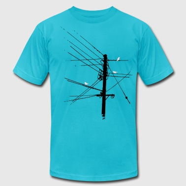 Birdz - Men's T-Shirt by American Apparel