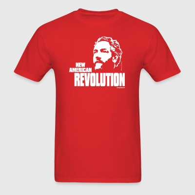 Breitbart - New American Revolution - Red shirt - Men's T-Shirt