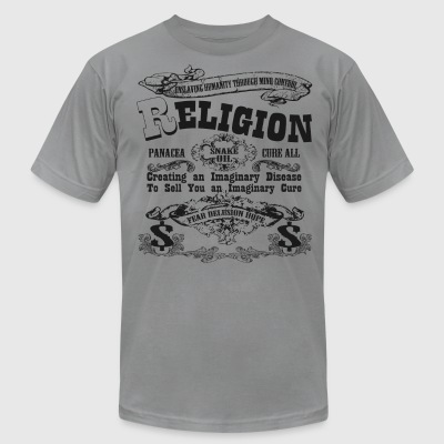 Snake Oil - Religion - Men's T-Shirt by American Apparel