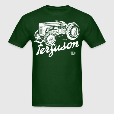 Classic Ferguson TE20 script and illustration - Men's T-Shirt