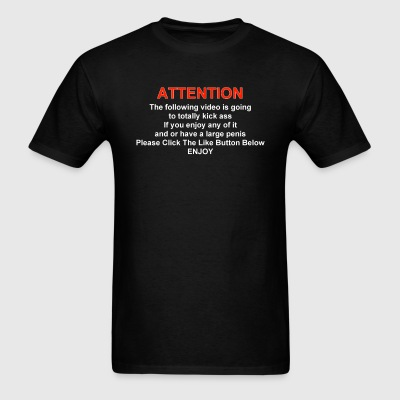 Like The Video! - Men's T-Shirt