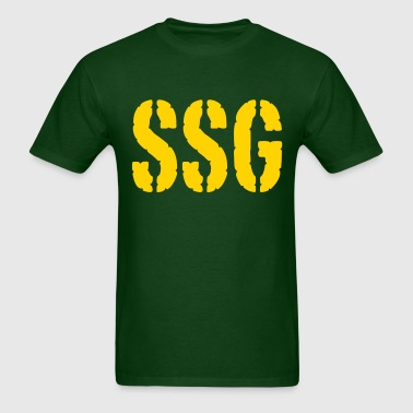 Staff Sergeant SSG rank - Men's T-Shirt