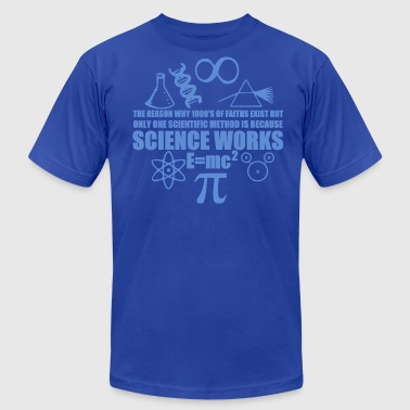 Science Works - Men's Fine Jersey T-Shirt