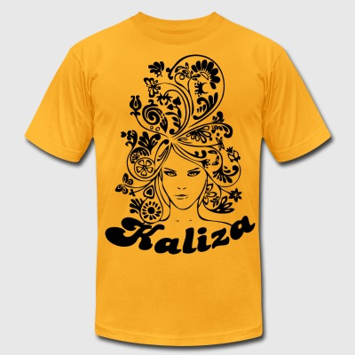 Mens: Kaliza Close up (American Apparel) - Men's T-Shirt by American Apparel