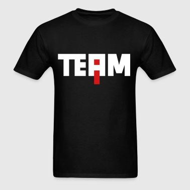 The I in team - Men's T-Shirt