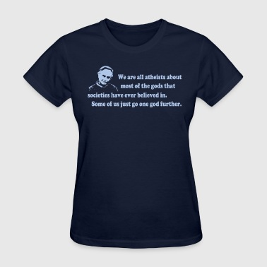 Richard Dawkins - We Are All Atheists - Women's T-Shirt