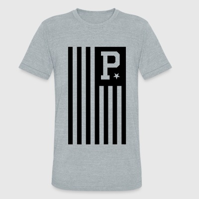 EDP Flag - Unisex Tri-Blend T-Shirt by American Apparel