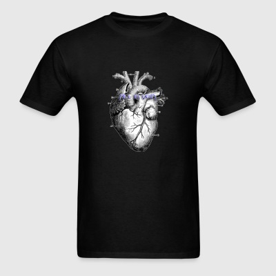 All in Vein Less than Three T-Shirt - Men's T-Shirt