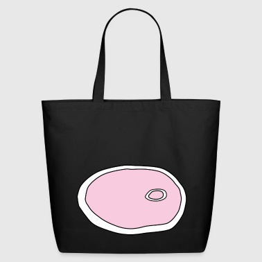 Ham Slice Eco-Friendly Cotton Tote - Eco-Friendly Cotton Tote