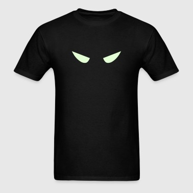 Eyes of the Bat (glows in the dark) - Men's T-Shirt