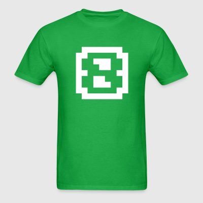 8-bit digit eight - Men's T-Shirt