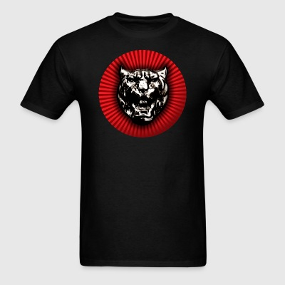 Vintage style Jaguar head emblem - Men's T-Shirt