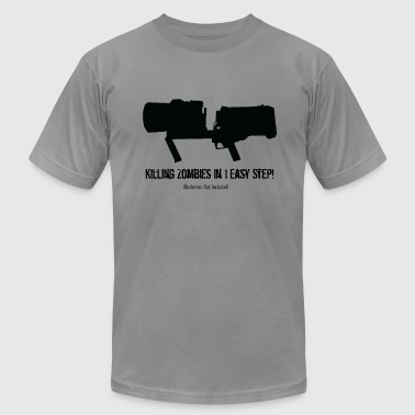 ThunderGun Ad - Men's T-Shirt by American Apparel