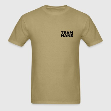 TEAM HANS SHIRT - COMIC CON 2012 - Men's T-Shirt