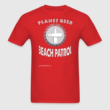 Planet Beer Beach Patrol T-Shirt - Men's T-Shirt
