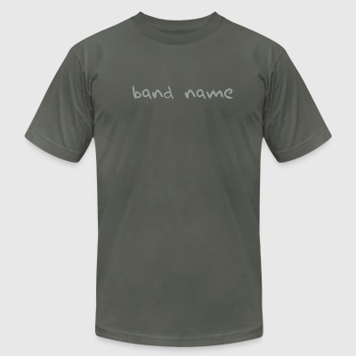 Band name - Men's T-Shirt by American Apparel