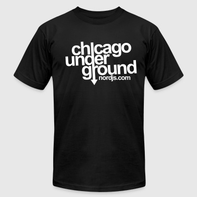 Chicago Underground - Men's T-Shirt by American Apparel