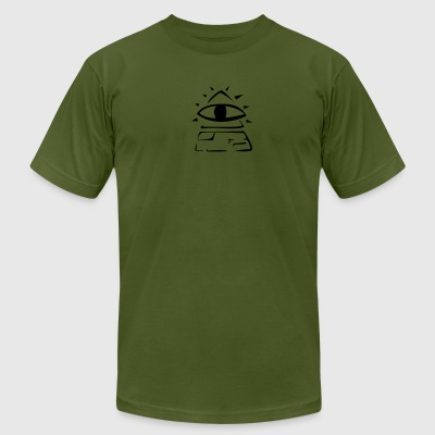 Illuminati Tee - Men's T-Shirt by American Apparel