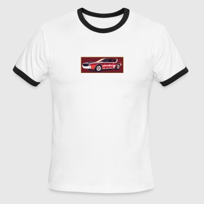 stroke 9 ride - Men's Ringer T-Shirt